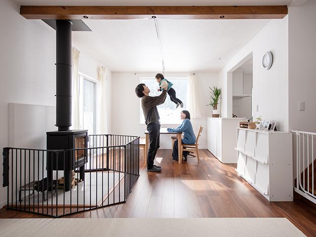 納屋を新築同然にリノベーション! 眺めのいい家