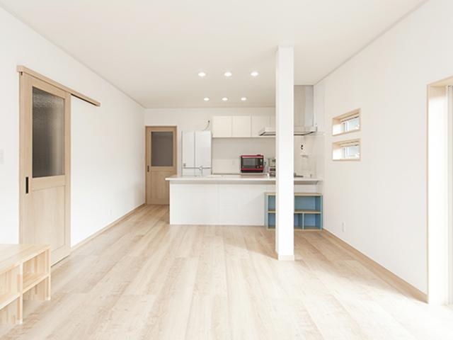 使われていなかった和室を再構築、居心地のいい二世帯住宅